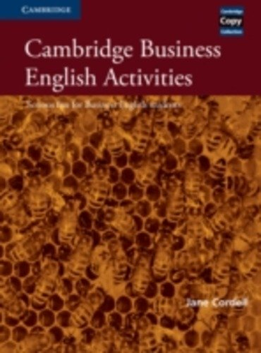 9780521587341 CORDELL, JANE CAMBRIDGE BUSINESS ENGLISH ACTIVITIES SE CAMBRIDGE ELT