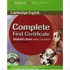 9780521698252 BROOK COMPLETE FIRST CERTIF.+CD-R -