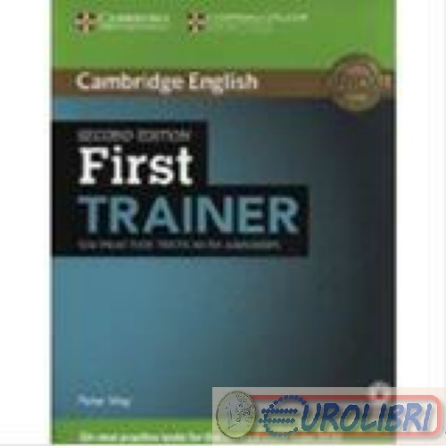 cambridge first trainer  Libri usati - 9781107470187 MAY FIRST TRAINER SIX PRACTICE TESTS ...