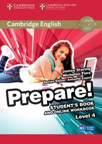 9781107497856 JOANNA KOSTA CAMBRIDGE ENGLISH PREPARE! LEVEL 4. STUD CAMBRIDGE ELT