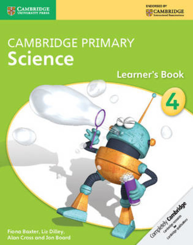 9781107674509 BOARD CAMBRIDGE PRIMARY SCIENCE 4 LB CAMBRIDGE ELT