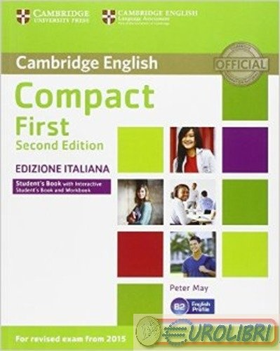 9781316502563 PETER MAY COMPACT FIRST. STUDENT'S BOOK. WITHOUT A CAMBRIDGE ELT
