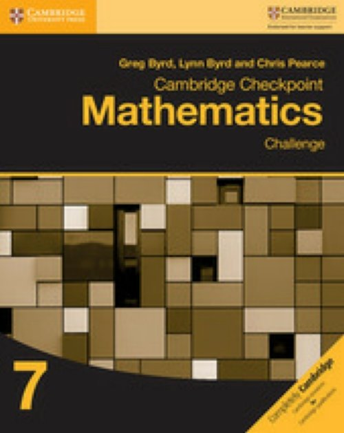 9781316637418 BYRD GREG CAMBRIDGE CHECKPOINT MATHEMATICS. CHALLE CAMBRIDGE ELT