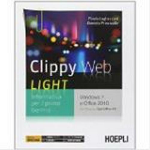 9788820361310 LUGHEZZANI CLIPPY WEB LIGHT HOEPLI SCOLASTICO -
