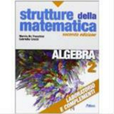9788826815459 RE STRUTTURE MATEMATICA ALG 2 ATLAS SUPER./MEDIE -