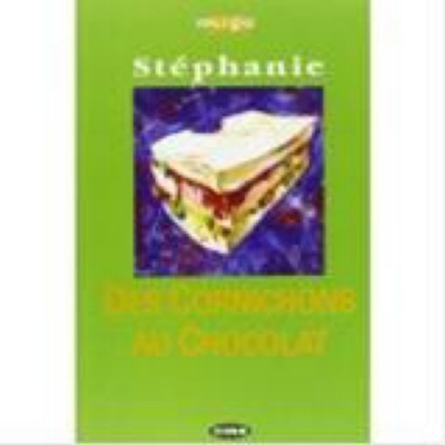 9788877542625 STEPHANIE CORNICHONS AU CHOCOLAT + CD CIDEB -