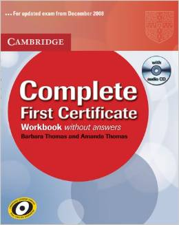 9780521698313 BROOK-HART COMPLETE FIRST CERTIF.WB+CD -